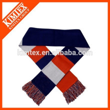 Acrylic double layer knit scarf