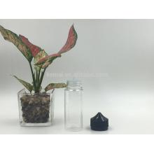 Frasco de óleo de PET de 120 ml com tampa anti-inviolabilidade