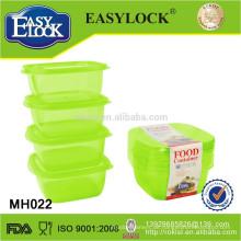 Flüssigkeitsbehälter, PP-Becher, runder Kunststoffbehälter mit Schraubdeckel