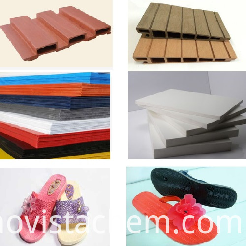 pvc processing aid for wpc board sheet foam shoes