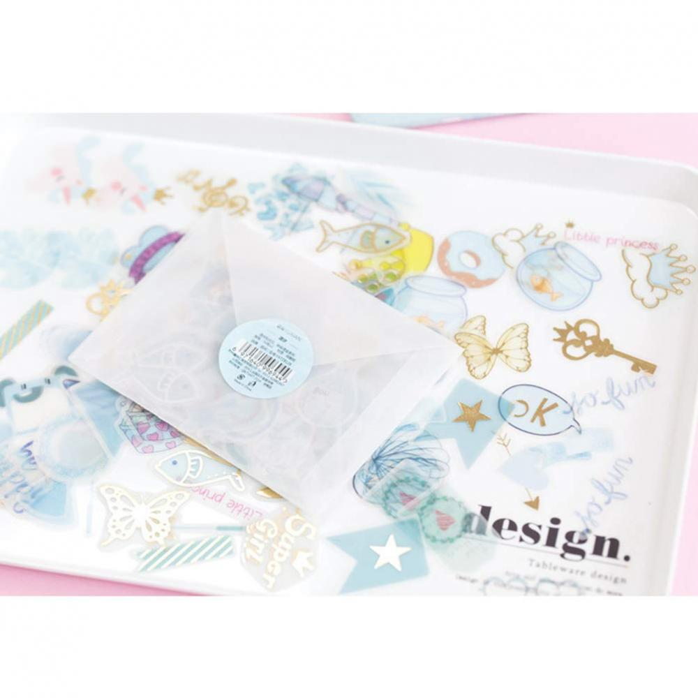Cute Stationery Sticker Set 4