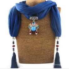 Elegant Charm Pendant Jewelry Necklace Scarf for Women