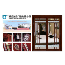 Double Design Aluminum Alloy Bathroom Interior Door
