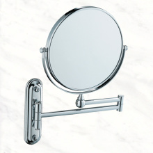 Chrome Metal Bathroom Cosmetic Mirror with Wall Mounted for Bathroom