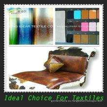 Cuero sintético de alta de perforación para el sofá