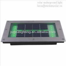 Ladrillo solar de jardín luz LED