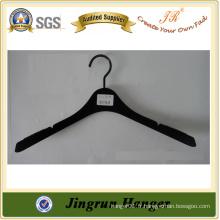 Fabricant en Chine Adult Popular Velvet Hanger of Plastic