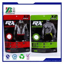 Пластиковый пакет Ziplock торговой марки Custom для одежды