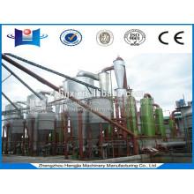Máquina de gasificador de biomasa pellet de industria gasificación equipo