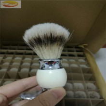Badger Hair Knot Resin Handle Brocha de afeitar