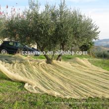 Excelente calidad nueva cosecha de hdpe próxima recoger redes de oliva