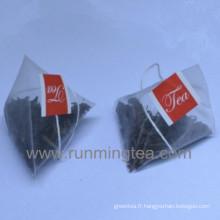 Sac de thé noir Sac de thé Pyramide