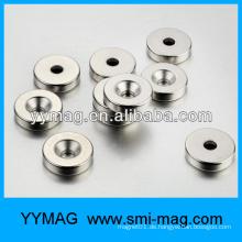 NdFeB runder Magnet mit einem Loch für Meter