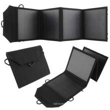Chargeur à énergie solaire bon marché Chargeur de panneau solaire portable de 20watts pour téléphone portable