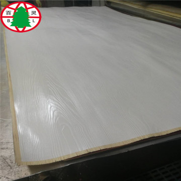 Melamine laminated MDF Embossed MDF panels 17mm