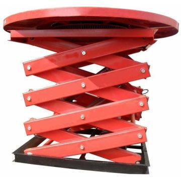 Etapa giratoria hidráulica modificada para requisitos particulares de Good Price Scissor Lift