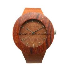 Großhandelsqualität Handcraft hölzerne Armbanduhr mit kundenspezifischem Logo