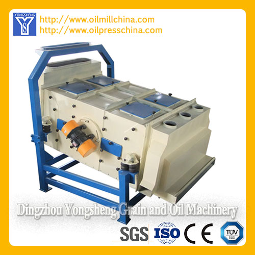 Vibration Cleaning Sieve Peanut Oil Pretreatment Equipment