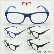 Latest Trendy Design Men′s Reading Glasses with Metal Decoration (MRP21389)