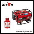 BISON (CHINA) 170F Motor Max Power 3000W GPL Gerador de Metano