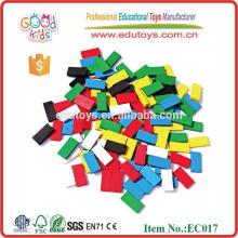 100pcs Wooden Enlighten Brick Toys