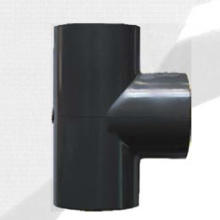 Тройник ASTM Sch80 Upvc темно-серый цвет