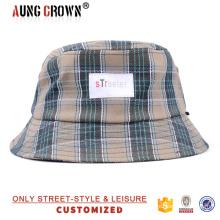 Шапки промотирования ведра / клетчатая ведро шляпы и крышка