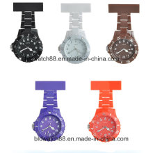 Customized Waterproof Plastic Nurse Fob Watch with Big Face