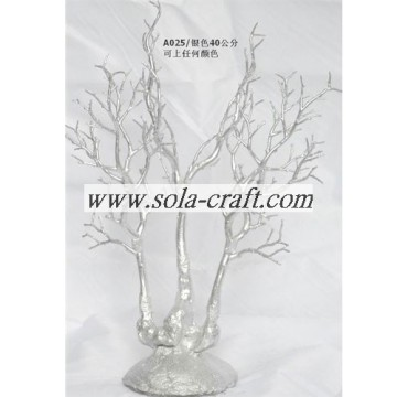 40CM Crystal Wedding Tree Pieza central con color dorado