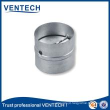 tipo redondo de alumínio uma forma do obturador com amortecedor traseiro seca