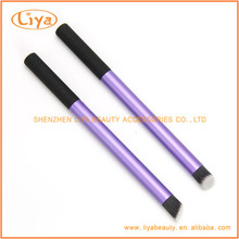 Beauty Makeup Tool Purple Angled Contour Brush