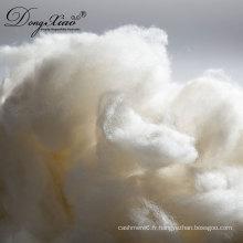 2017 nouveaux produits en gros prix stock brut blanc fibre de laine brute