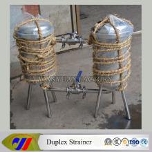 Stainless Steel Saniatry Duplex Strainer