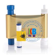 Magicard MA1000K Gold ID Card Color Ribbon for Pronto, Enduro, Rio Pro Printers 1000 Prints Ribbon