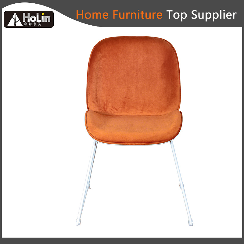 Fabric Upholstered Pp Leg Dining Chair