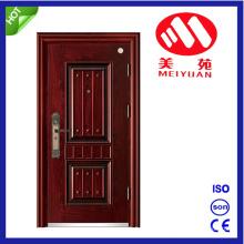 2017 New Design Hot External Iron Main Steel Door with Handle