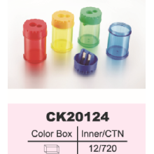 Colorful Plastic Pencil Sharpener
