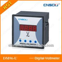 DM96-U square 96*96 digital single phase AC voltmeter