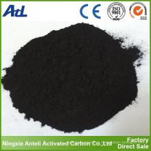 Carbón activado en polvo de carbón