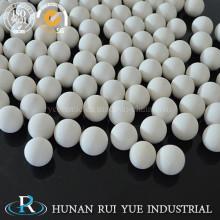 Bola de cerámica de alúmina inerte para Reactor en lecho adsorbente