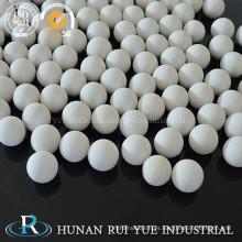 Bolas de cerámica de alta alúmina blanco partículas porosas esféricas como pulido bola