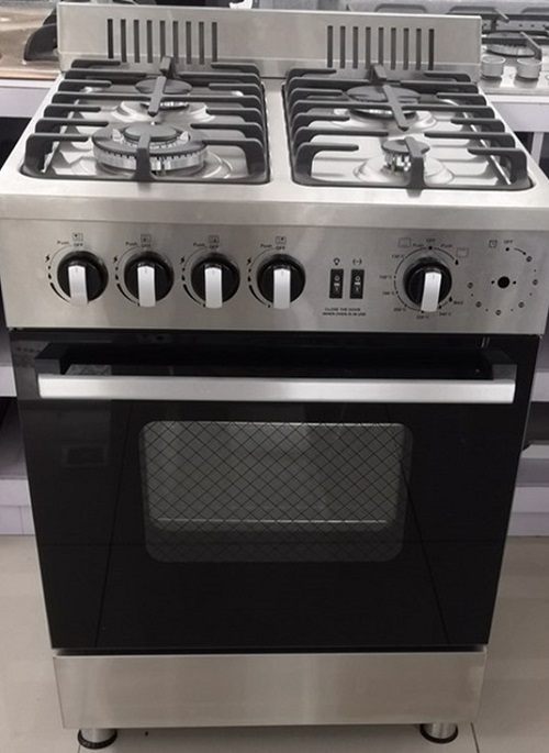 kitchen stainless steel professional gas range