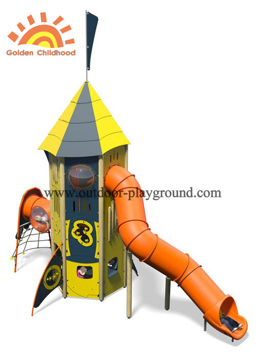 Hpl Activity Tower Playground Equipment