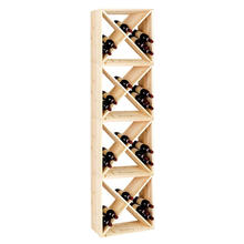 Factory Direct Sales Combination Wine Cabinet Solid Wood  Wine Rack Storage Holder