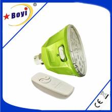 Global Bulb recargable impermeable de control remoto