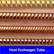 Tubo corrugado de cobre y níquel (C44300, C70600, C71500)