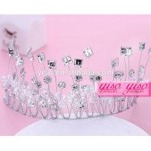 Braut Hochzeit Kristall Mode fbirthday Krone für Erwachsene Krone