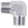 Industrial Grade Stainless Steel Male Elbows