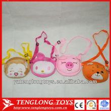 Batir la venta de bolsos baratos y pequeños animales de peluche para niños