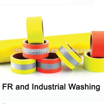 Cotton Flame Retardant Yellow Warning TRIM Tape for Heavy Safety firefighter Garment